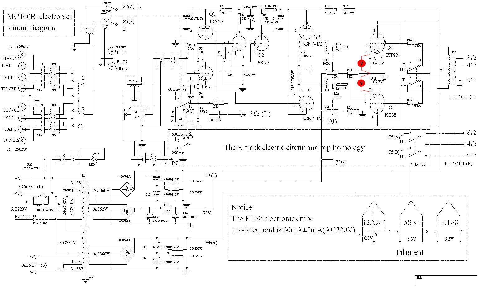 Yaqin Mc100b Circuit Diagram Opinions About Wiring Diagram \u2022 MC Cable  Sizes Mc Wiring Diagram